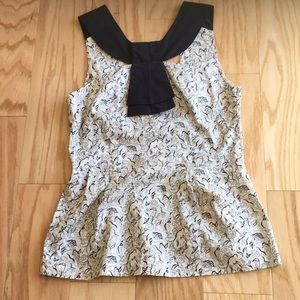 Anthropologie Girls from Savoy blouse. Sz 4